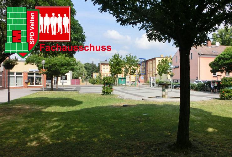 Marktplatzumbau Thema im Stadtentwicklungsausschuss