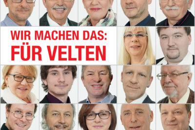 Unsere Kandidaten zur Kommunalwahl