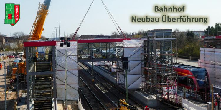 Bahnhofs- und Spielplatzneubau kommen voran